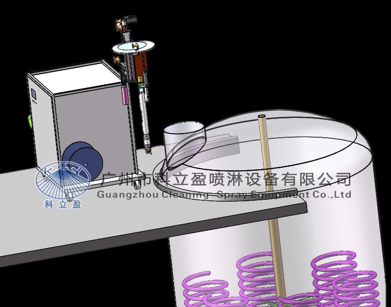 三维旋转喷头机械反应釜清洗装置设计实验,高压水反应釜清洗原理