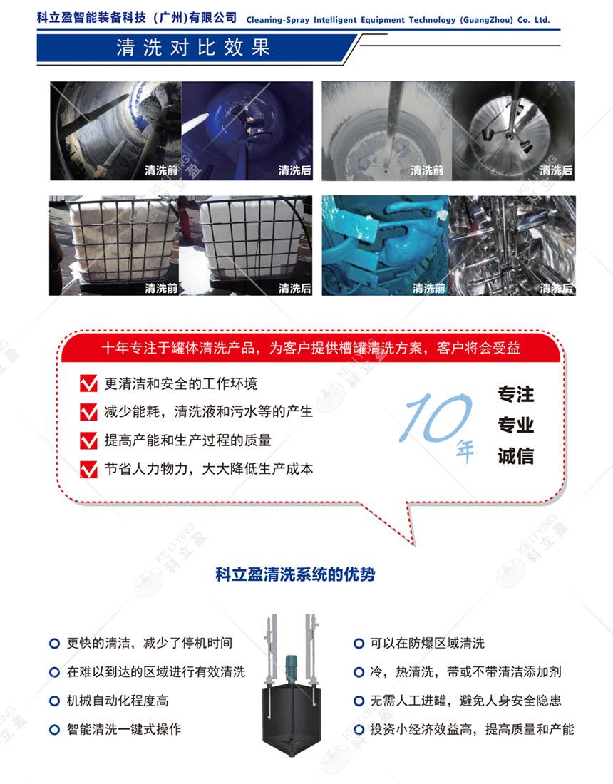 反应釜高压清洗设备