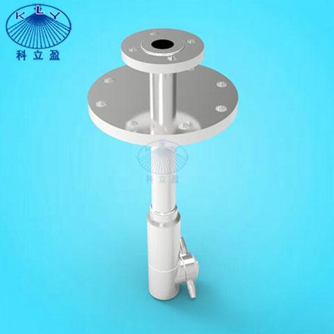 法兰喷淋杆专业供应各种规格不锈钢清洗