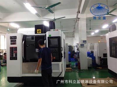 我司新增数控加工中心2台为解决旋转清洗器,CIP清洗喷嘴生产交货紧问题