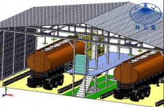 中大型槽罐车智能固定清洗系统解决方案