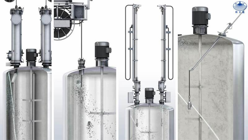 聚合反应釜清洗卷管系统设计方案