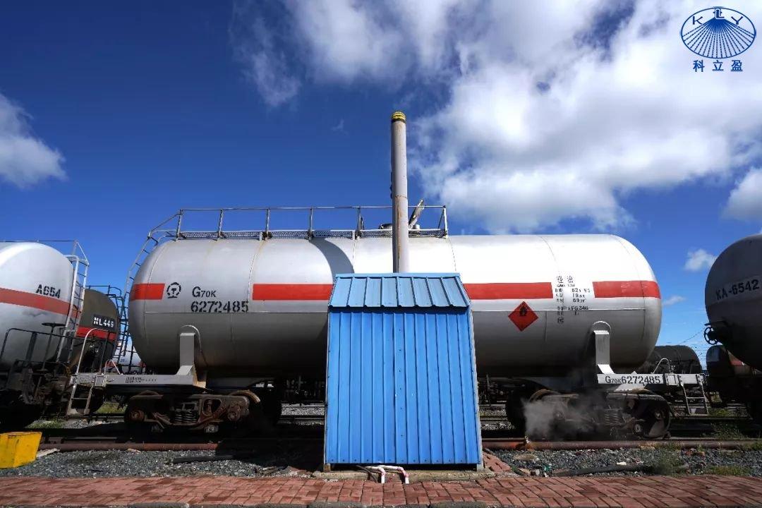 使用蒸汽清洗油罐车存在的问题