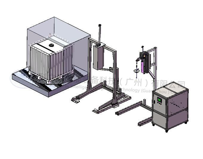 半自动吨桶清洗解决方案