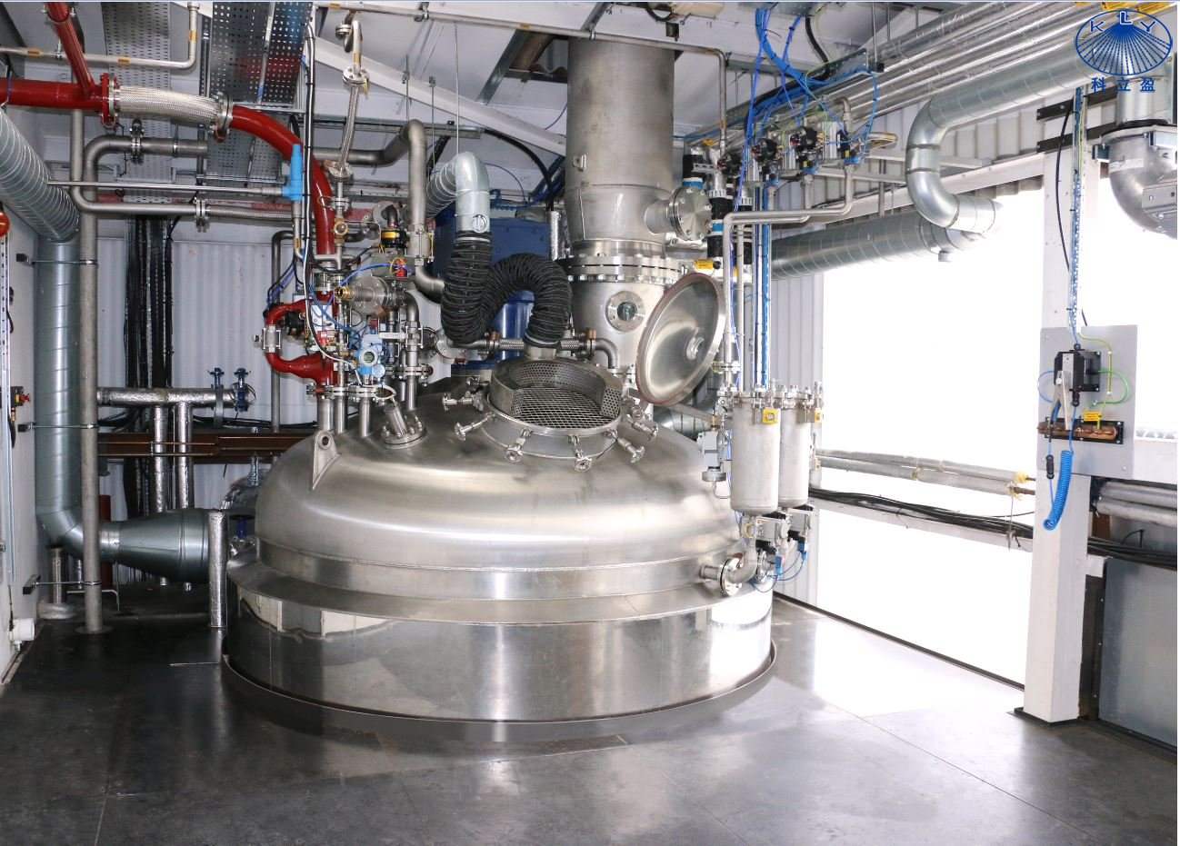 如何快速高效清洗聚合反应釜内壁