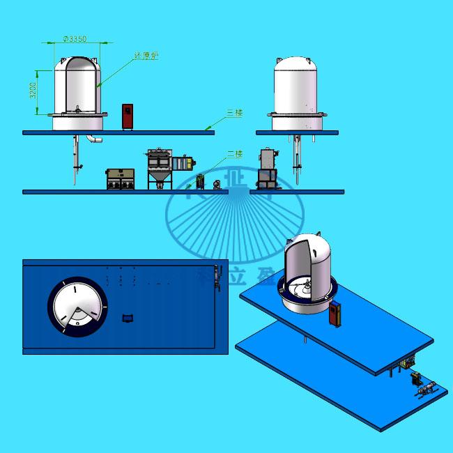 多晶硅还原炉炉筒清洗系统