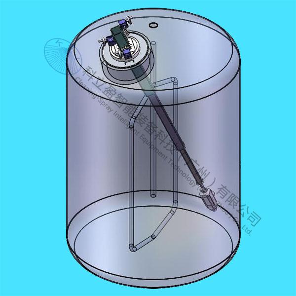 适配器式移动反应釜清洗系统